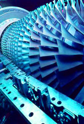 Gas and Steam Generator Turbine Rotor