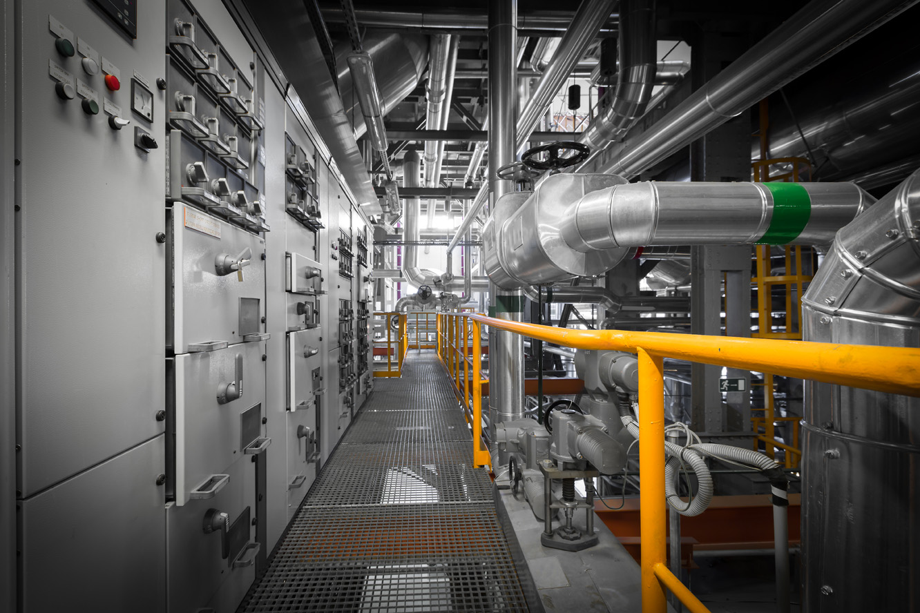 Steam and Water Piping in Thermal Power Plant
