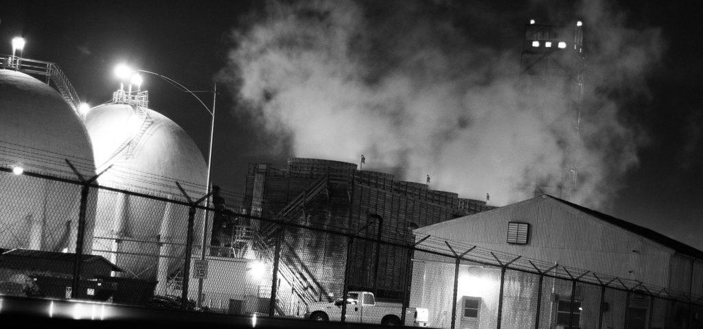 Power Plant Fire