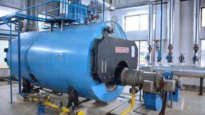 A photo of a boiler